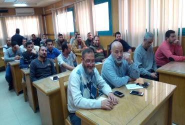 Training in Alexandria and Beheira governorates